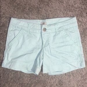 BKE women's shorts worn a hand full of times.